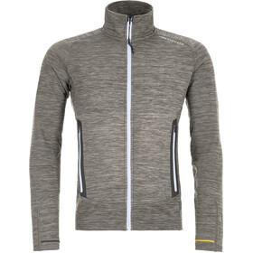 Ortovox Merino Fleece Light Melange Jacket Men grey blend